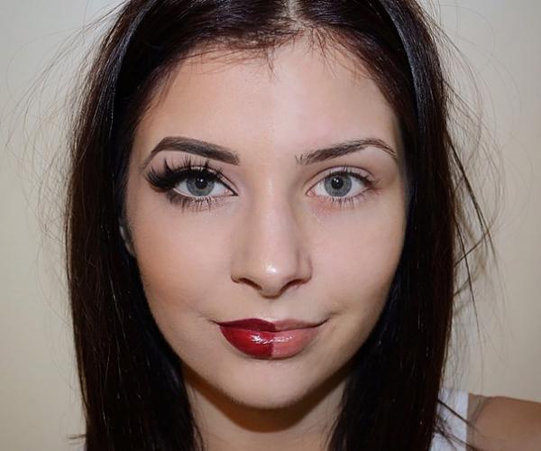 Beyaz tenli kıza nasıl makyaj yapılır?