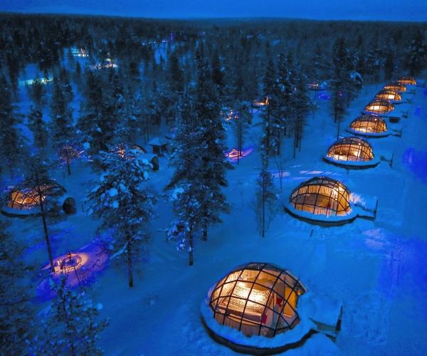 Hotel Kakslauttanen, Finlandiya