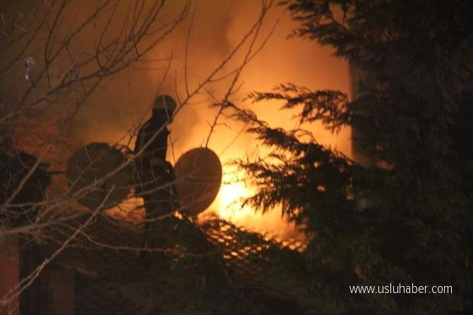 Kastamonu'da yangın: Hafızbey Konağı yandı